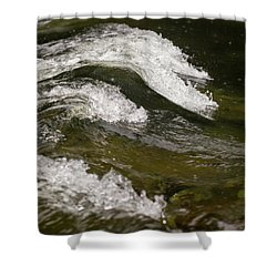 River Waves Shower Curtain
