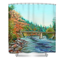 Riverdance Shower Curtain