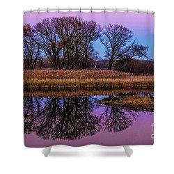 Riverglow Shower Curtain