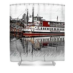 Riverlady.com Shower Curtain