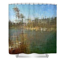 River's Edge Shower Curtain