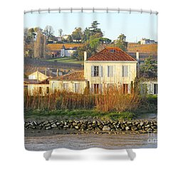 Riverside Excellence Shower Curtain