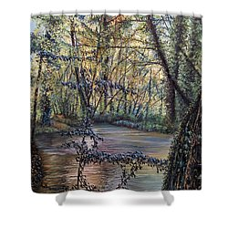 Riverside Shower Curtain
