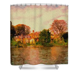Riverview II Shower Curtain