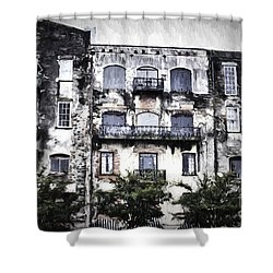 Riverview Shower Curtain by Judy Wolinsky