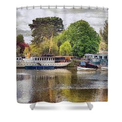 Riverview Vii Shower Curtain