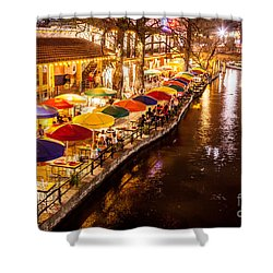 Riverwalk District Shower Curtain