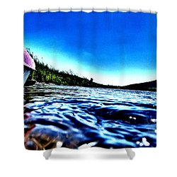 Rivewaves Shower Curtain
