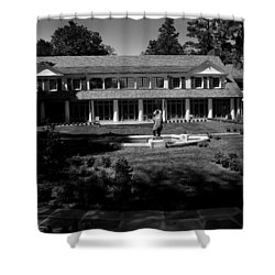 Rj Reynolds Estate Shower Curtain