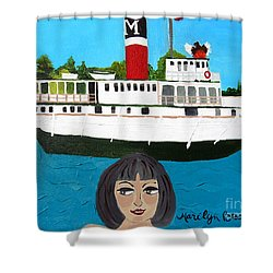 R.m.s. Segwun - With Phoenix Shower Curtain