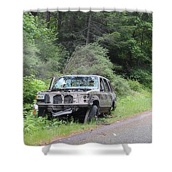 Shower Curtain featuring the photograph Road Kill by Marie Neder