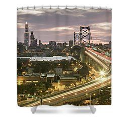 Road To Brotherly Love Shower Curtain