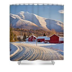 Road To Mount Mansfield Shower Curtain