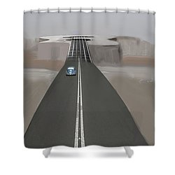 Road To Music Shower Curtain