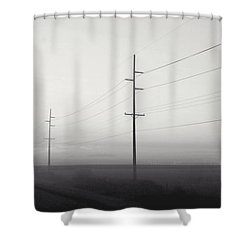Road To Nowhere Shower Curtain