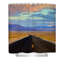 Road To The Dreams Shower Curtain