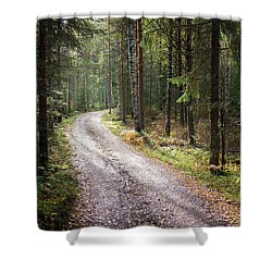 Road To The Light Shower Curtain