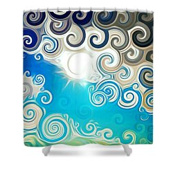 Road To Whimsy Shower Curtain