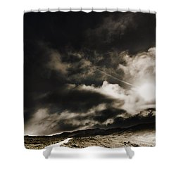 Shower Curtain featuring the photograph Roads Of Atmosphere  by Jorgo Photography - Wall Art Gallery