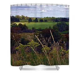 Roadside Wanderings Shower Curtain