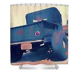 Roadster Pickup Rear Shower Curtain
