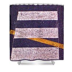 Roadway Shower Curtain