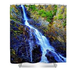 Roaring Brook Falls Shower Curtain