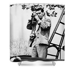 Robert Capa (1913-1954) Shower Curtain by Granger