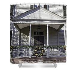 Robert Carter House Porch 01 Photograph By Teresa Mucha