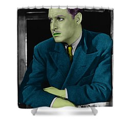 Robert Donat Shower Curtain by Emme Pons