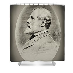 Robert E Lee - Csa Shower Curtain