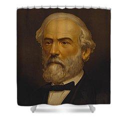 Robert E Lee Shower Curtain by War Is Hell Store