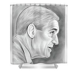 Robert Mueller Shower Curtain
