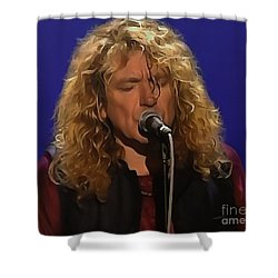Robert Plant 001 Shower Curtain