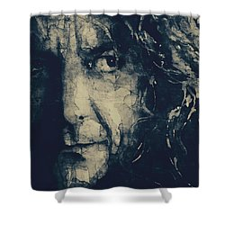 Robert Plant - Led Zeppelin Shower Curtain