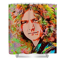 Robert Plant Shower Curtain