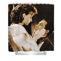 Robert Taylor And Greta Garbo Shower Curtain