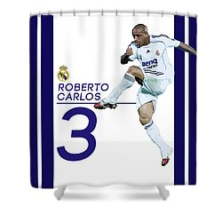Roberto Carlos Shower Curtain