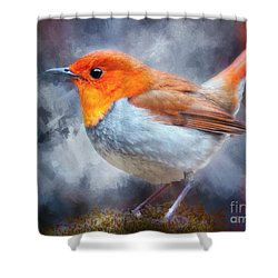 Robin I Shower Curtain