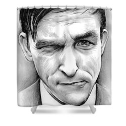 Robin Lord Taylor II Shower Curtain