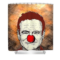 Robin Williams 2 Shower Curtain