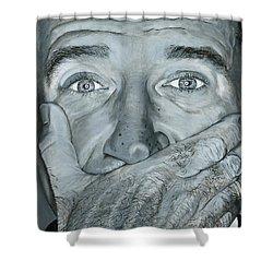 Robin Williams Shower Curtain
