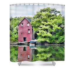 Robinhood Cove Shower Curtain