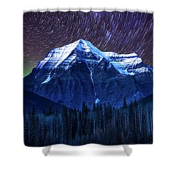 Robson Stars Shower Curtain by John Poon