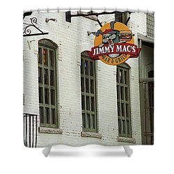 Shower Curtain featuring the photograph Rochester, New York - Jimmy Mac's Bar 3 by Frank Romeo