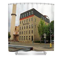 Rochester, New York - Smokestack 2005 Shower Curtain by Frank Romeo