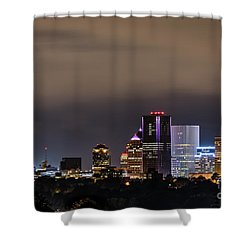 Rochester, Ny Lit Shower Curtain