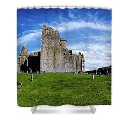 Rock Cashel Shower Curtain