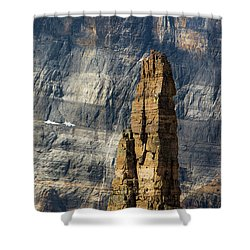 Rock Climber Shower Curtain