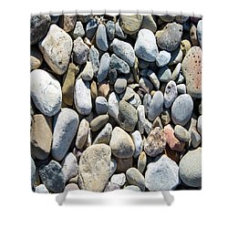 Rock Collection Shower Curtain